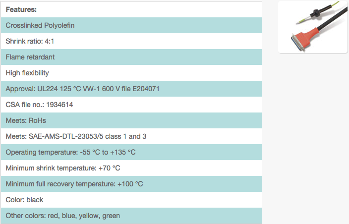 Flexible / flame retardant / 4:1 / mil spec 135 degrees / H-2F(4X)