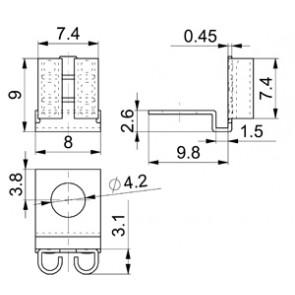 receptacles 3839w.68