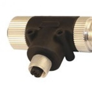 78T77000 - T connector with 7/8 and at the other hand one M12 female