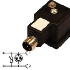 G1N02VL3-12MD - Bipolar led+varistor 230V