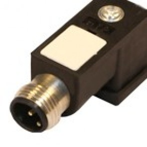 P2N02000C-12MD - DIN/C adapter with M12 cable entry