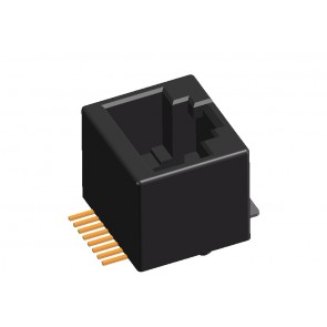CJ33 Series Board Mount Telephone Jack