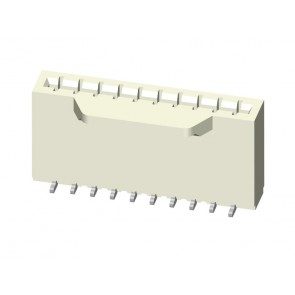 "CF65 Series 0.50mm(.020"") H=5.50 SMT LIF Vertical FFC/FPC Connectors"