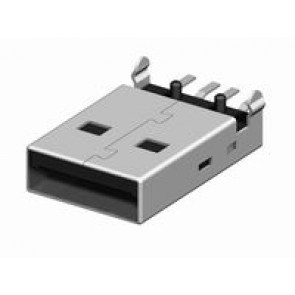 CU01 Series USB Type-A Board Mount Plug Connector