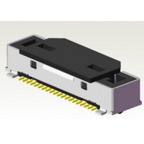 CVS5 Series 0.50mm(.020) LVDS Socket Connectors(Halogen Free)