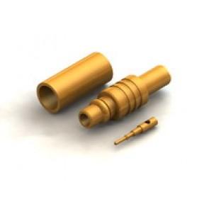 CR04 Series  MMCX Straight Cable Crimp Type Plug Conn.