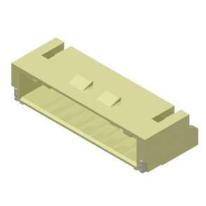 CI01 Series 2.00mm(.079) Single Row Right Angle SMT Latch Type Headers