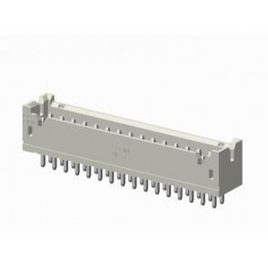 CI01 Series 2.00mm(.079)Dual Row Straight DIP Type Pin Headers(reinforced)