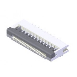 CF25 Series 1.00mm(.039) ONE-TOUCH Right angle SMT FFC/FPC Connectors(Halogen Free)
