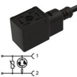 CM1N02VL3C021 - Bipolar led+varistor 230V