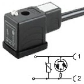 CM2N02VL3C021 - Bipolar led+varistor 230V