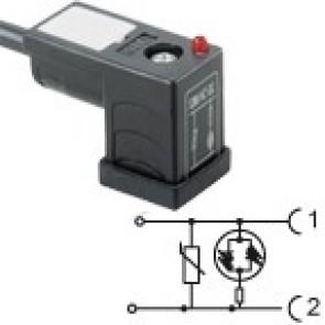 CP1N02VL2C021 - Bipolar led+varistor 115V