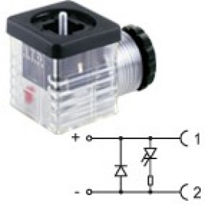 G2TU2DL3 - PG9/PG11 - Led+diode 230V