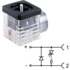G2TF2DL1 - 1/2NPTF - Led+diode 24V