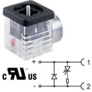 G1TF2DL2-UL - 1/2NPTF - Led+diode 115V
