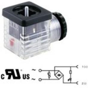 G1TU2RL1-UL - PG9/PG11 - Bridge rectifier + led + varistor 24V