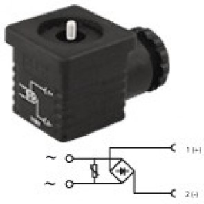 G2NU2RV2 - PG9/PG11 - Bridge rectifier + varistor 24V