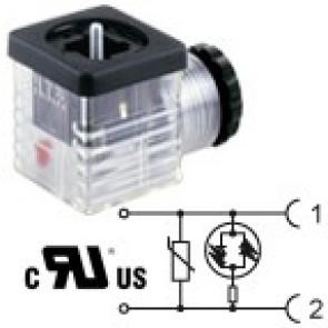 G2TU2VL1-UL - PG9/PG11 - Bipolar led+varistor 24V