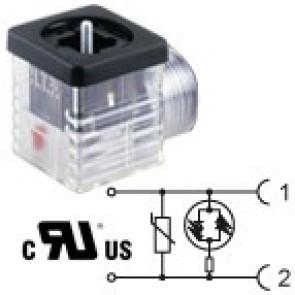 G2TF2VL1-UL - 1/2NPTF - Bipolar led+varistor 24V
