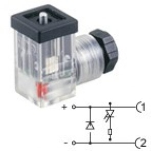 P2TZ2DL3 - PG7 - Led+diode 230V